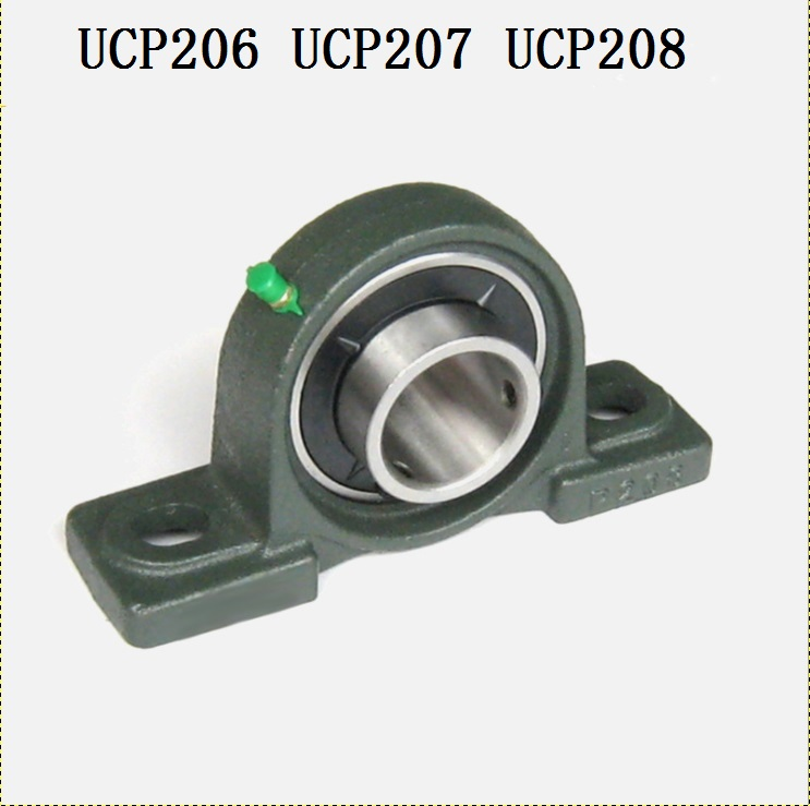 1pcs UCP206 UCP207 UCP208 Pillow Block Bearing Inner Diameter 30mm/35mm/40mm Insert Bearing With mounted Housing for CNC chic quality flamingo and lotus pattern flax pillow case(without pillow inner)