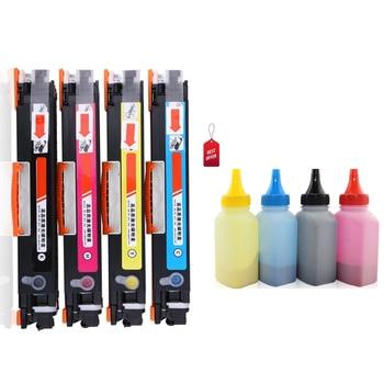 [toner cartridge+toner powder] Compatible for Canon Laser Toner LBP7010C 7010 LBP7018C LBP7018 Save on printing costs toner pack