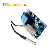 12V High precision Intelligent Thermoregulator Thermostat Temperature Controller DS18B20 Sensor Delay Timer Time Relay Switch