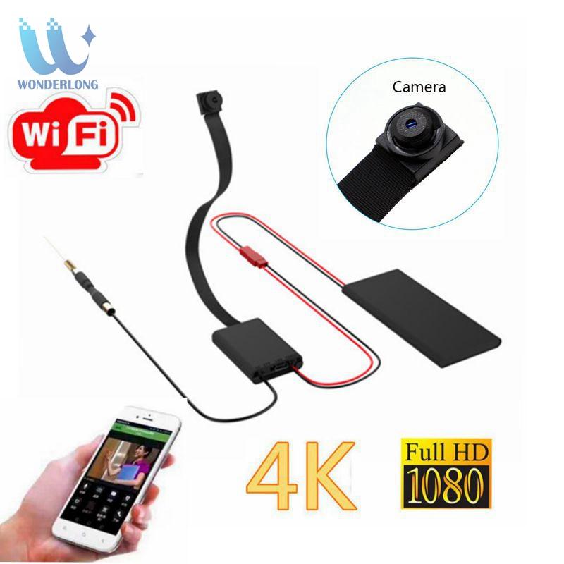 4 K HD1080P sans fil WiFi IP CCTV Mini bricolage Module caméra Sport Espia DV P2P enregistreur vidéo numérique petite caméra caméscope Module
