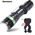LOMOM Adjustable Portable Powerful Led Flashlight 18650 Led Torch Rechargeable Tactical Flashlight Lampe Torche Waterproof