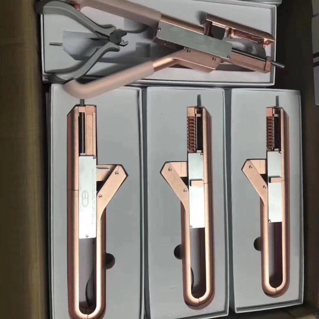 Drop Shipping Haute Qualité 6d Connecteur D'extension De Cheveux Nouveau Outil De Coiffure Pour Cheveux Perruque invisible Extension Machine