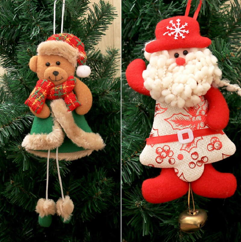 2017 new year christmas tree decorations pendant for home for Decoraciones de navidad para el hogar