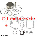 Original LF 150cc Oil Cooled Engine Gasket Piston Set   Lifan 150CC Pit Dirt Bike Engine Spare Parts KLX SDG SSR CRF Apollo