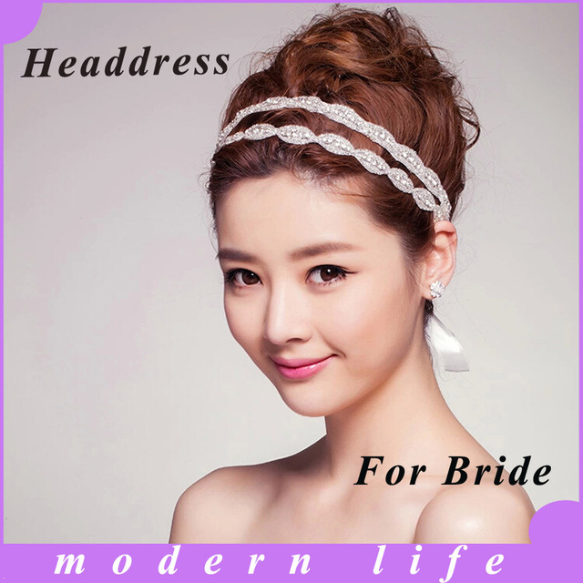 Hot Explosion Models Of High End Luxury Double Diamond Bridal Gown
