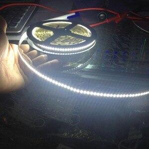 Image 3 - LED רצועת 4800Lm סופר בהיר 24V IP20 48W 93.6W 2835 LED רצועת 240led גמיש פס אור סרט 5M showcase led 4000K 3000K