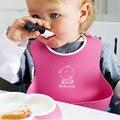 Alimentos Para bebés Baberos de Silicona Animales Lindos Comidas baberos Recién Nacido Saliva babero de Alimentación Funcional bavoir babador bebe babero de silicona
