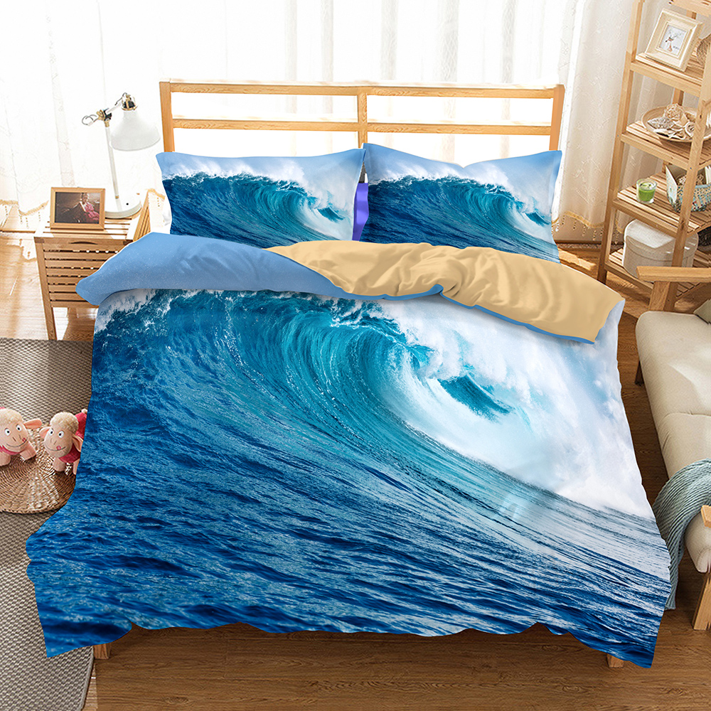 Fanaijia 3d Bedding Set queen size kids Beach duvet Cover With Pillowcases bedclothes 3D bed sets Home textileFanaijia 3d Bedding Set queen size kids Beach duvet Cover With Pillowcases bedclothes 3D bed sets Home textile