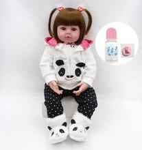 58 cm de vinilo de silicona renacer muñeca realista recién nacido niñas l o l renace niño muñecas lol original de los niños cumpleaños regalo presente