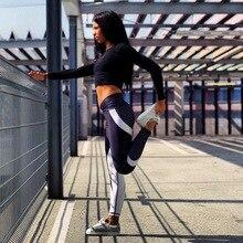 Mesh Pattern Fitness Leggings