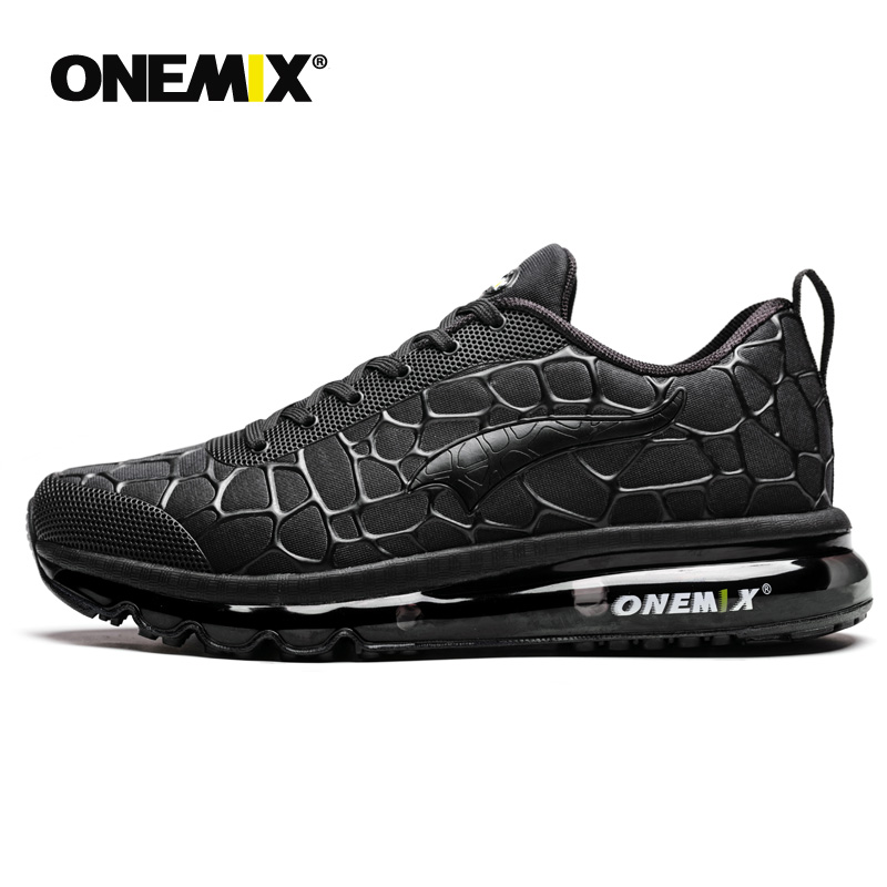 Onemix Air Cushion Running Original  For Men Breathable Athletic Outdoor Sport Shoes Men's Running Shoes Eur Big Size 39-47