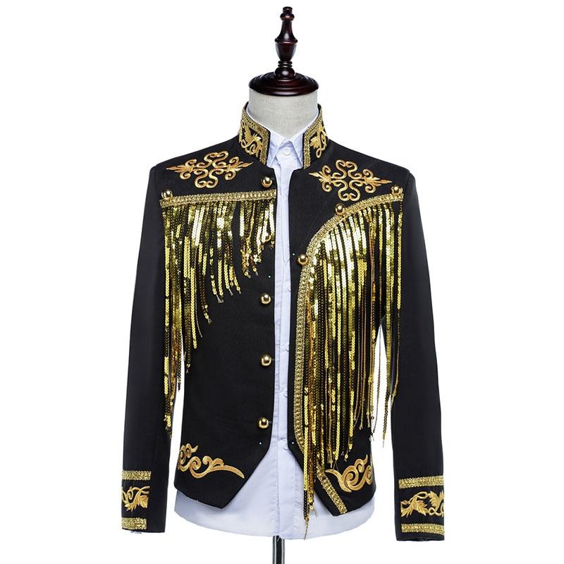 흑백 Mens blazer masculino blazer 남성 의상 homme 남성 블레이저 디자인 남성 봄 재킷과 술