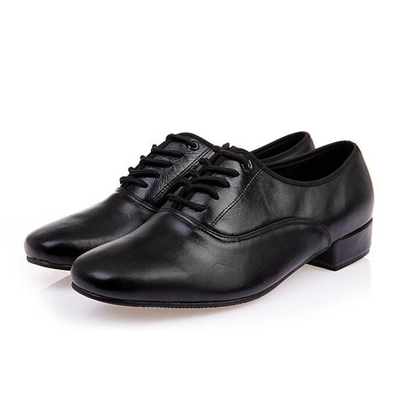 2017 New Man Dress Shoes Lace Up Pu Leather Sneakers For Man Tap Dance Shoes For Ballroom Dancing Tango Jazz Waltz Free Shipping glowing sneakers usb charging shoes lights up colorful led kids luminous sneakers glowing sneakers black led shoes for boys