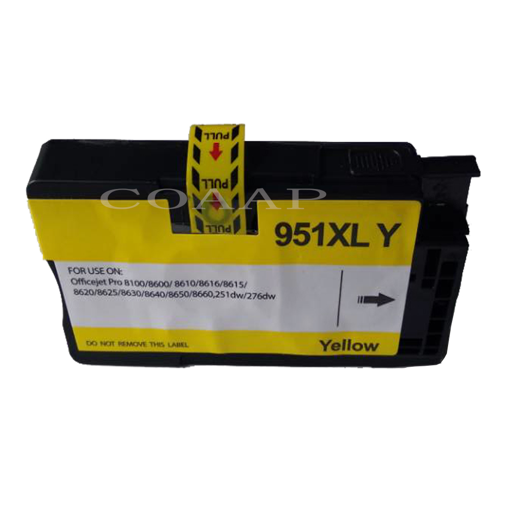 10PK Compatible ink Cartridges for HP 950xl HP 951xl OfficeJet Pro 251dw 8600 8610 8625 8640 8660 Printers-in Ink Cartridges from Computer & Office    2