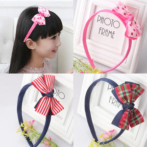 M MISM Fashion Bow Knot Hair Bands Cute Headband Hair Accessories Ornaments Hair Hoop For Girls Kids Head Wear Children