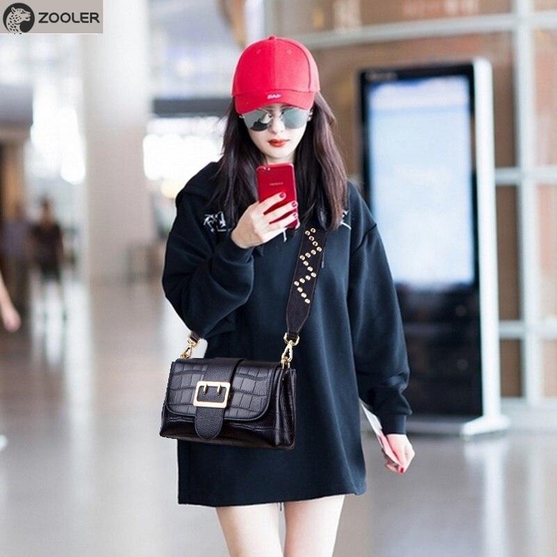 ZOOLER genuine leather shoulder bags women Quality messenger bag crossbody fashion leather handbag purse bolsa feminina
