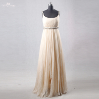 RSE762 Real Pictures Yiaibridal Elegant Greece Pattern Long Champagne Pregnant Prom Dresses