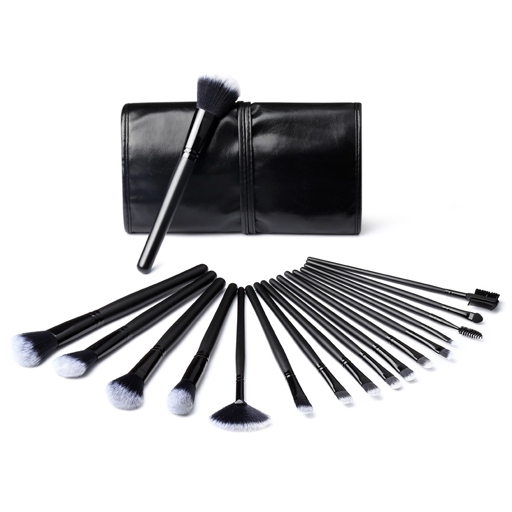 32pcs Professional Complete Makeup Brush Set Eyeliner Eyeshadow Eyebrow Lip Cosmetic Brushes Foundation Powder Blushes 7pcs makeup brushes professional fashion mermaid makeup brush synthetic hair eyebrow eyeliner blush cosmetic