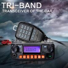 Zastone MP320 Мобильный Приемопередатчик 20 Вт УКВ 136-174 400-480 МГц 460-520 МГц автомобильный Радиоприемник Рации портативные Радиостанции(China (Mainland))