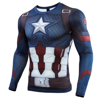 Men's America 3D Printed Compression Shirt