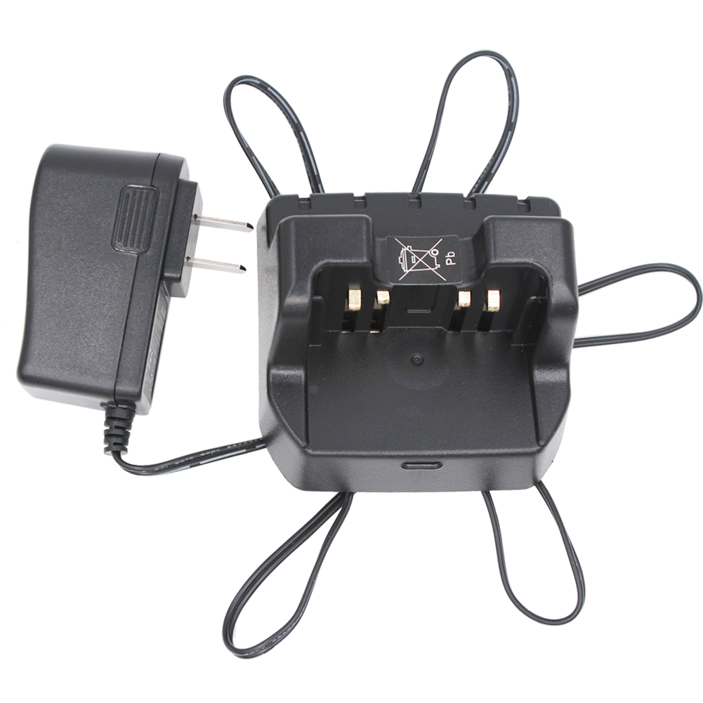 CD-47 VAC-20 Desktop Charger For Vertex Yaesu Radio VX-414 VX-417 VX-160 VX-180 FT-60R FT-250R FT-270R VX-120 VXA-220 VX-800
