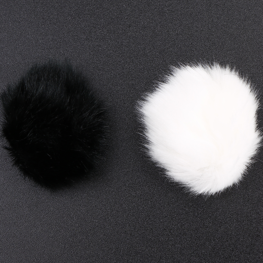Soft Artificial Fur Muff Winder Microphone Cover Windscreen Windshield For Lapel Lavalier Microphones for Sony D50  New Arrival!