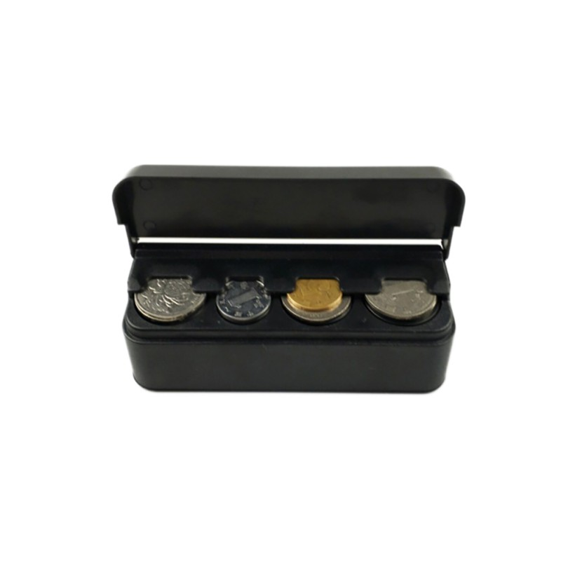 Case Dispenser-Organizer Container Storage-Box Car-Coin-Holder Euro-Coins for  title=