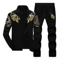 YWSRLM Zipper Jacket Pant Polo Set 2017 Casual Men Sporting Suit Hoodie Men S Tracksuit Sweatshirt