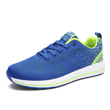 2016 Plus Size 39-47 Mens Light Weight Running Shoes Breathable Lace-up Sport Shoes Men Training Shoes Large Size Zapatos Hombre