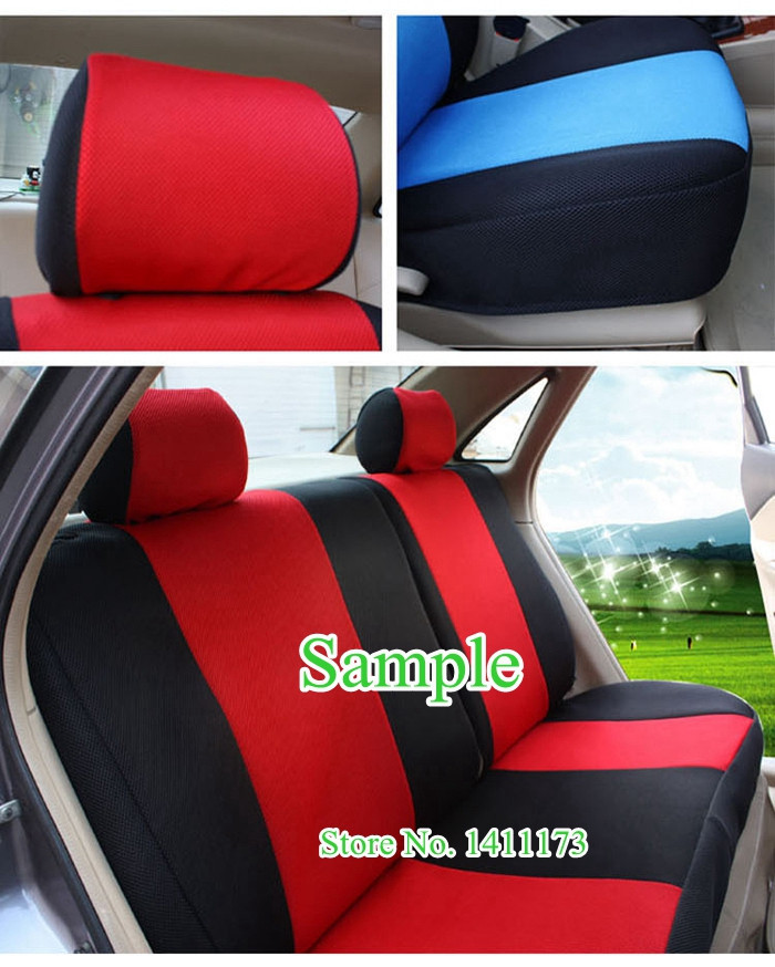 RL-LK167 custom car seat cushions set (4)