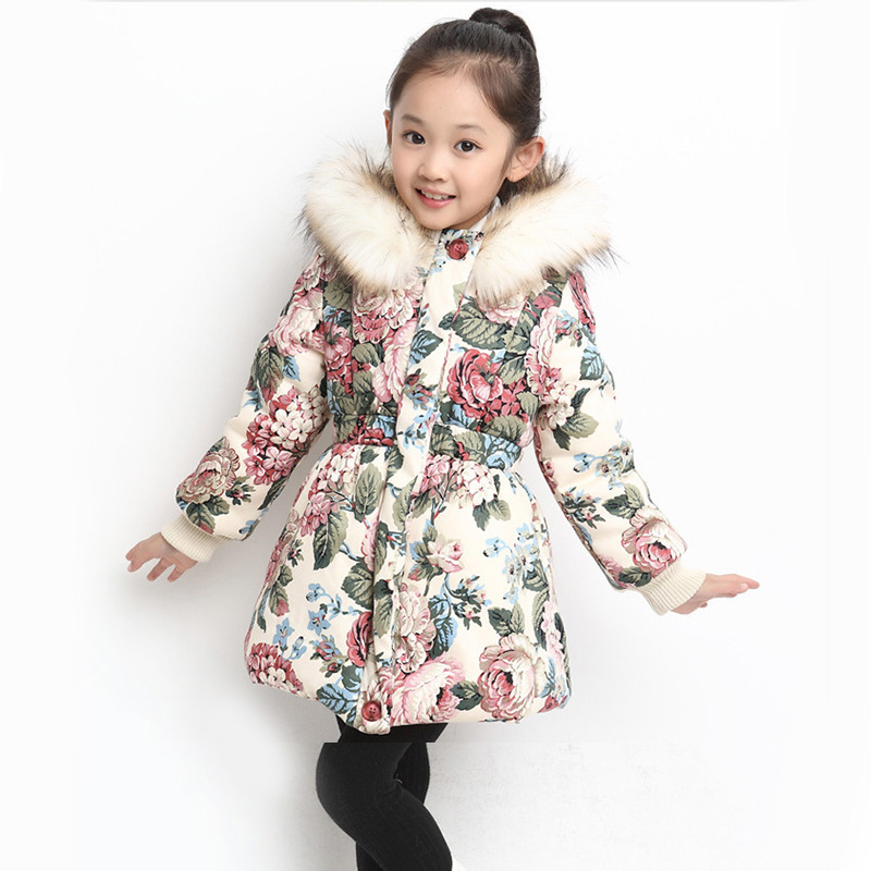 New Winter Girls Coat Cotton Girls Jacket Thick Fake Fur Warm Jackets For Girls Clothes Coats Solid Casual Hooded Kids Outerwear цены