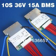 3,6 V 3,7 V lithium batterie 10S 36V 37V BMS PCM Verwendet für 36V 8Ah 10Ah 12Ah und 15Ah li ion batterie Mit die balance funktion