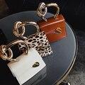 Casual Metall Griff Handtaschen Frauen Umhängetasche 2019 Marken Ketten Schulter Umhängetaschen Damen Handtasche Geldbörsen Bolsa Chic