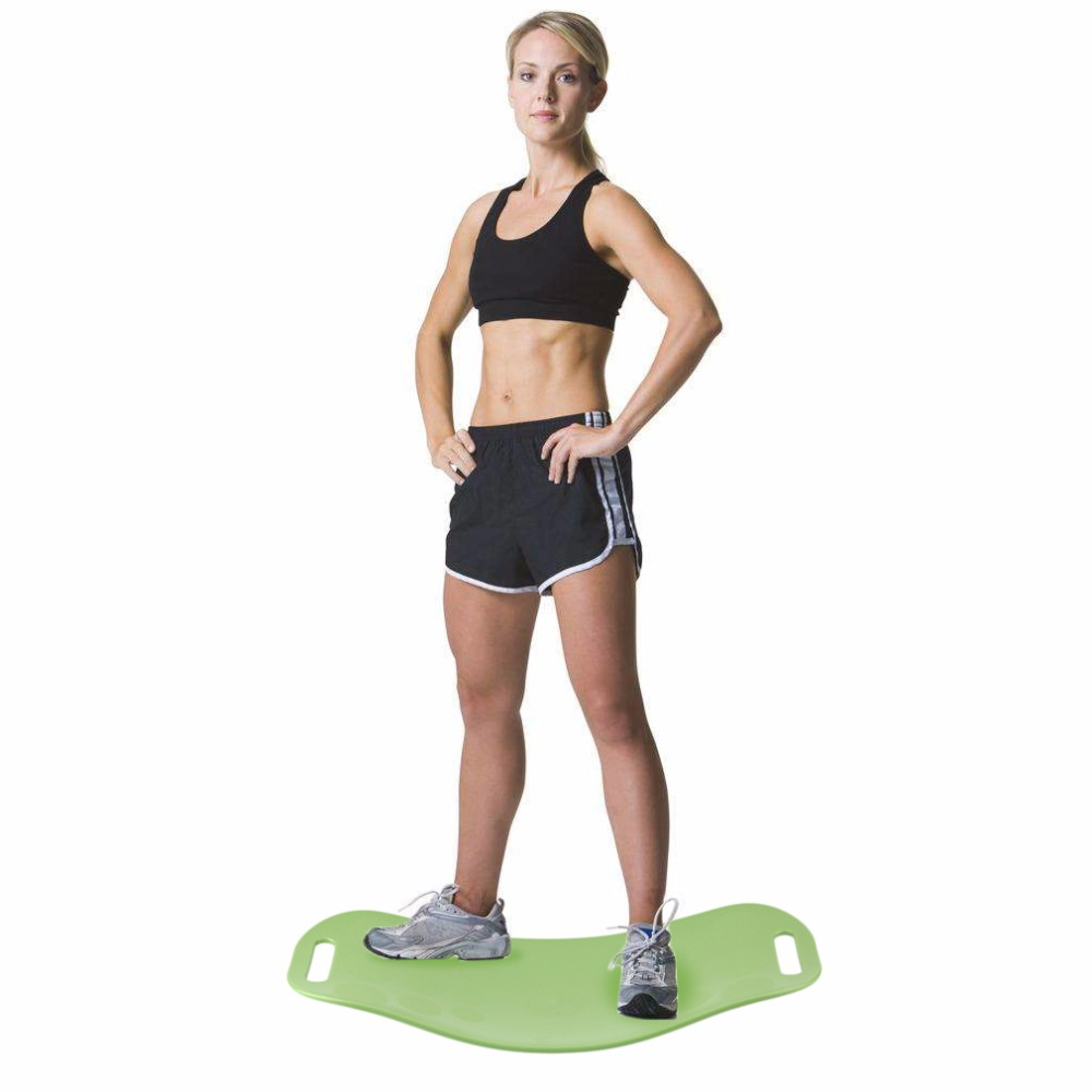 OUTAD Sport Exercise Physical Balance Board Foot Leg Body Training Yoga Board For Twisting Waist Torsion Solid color keep <font><b>slim</b></font>