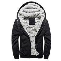 الرجال أزياء الشتاء سميكة القطن معطف عارضة هوديس سترة أبلى