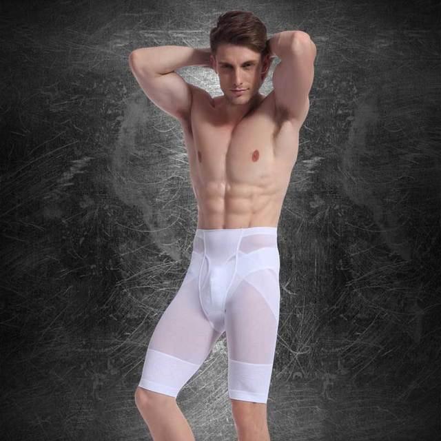 Hot Men High Waist Slimming Abdomen Girdle Control Panties Seamless Tummy Trimmer Shaper Lift Butt Lose Weight Underwear NY025 3