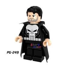 Único star wars super-heróis da marvel comics Justice League Punisher modelos blocos de construção de tijolos brinquedos para as crianças kits
