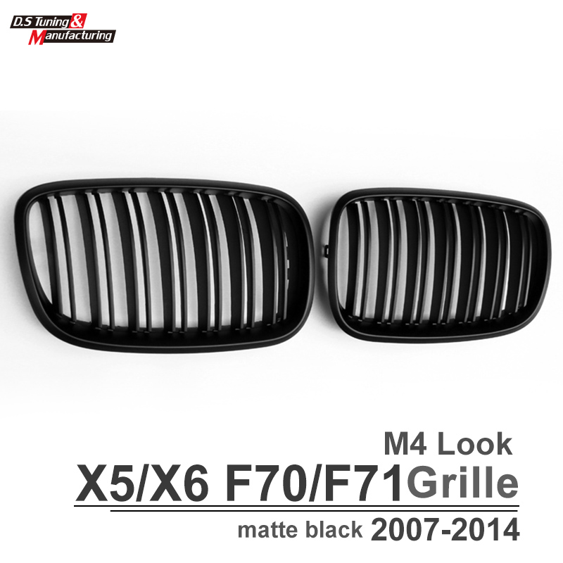 Bmw X6 Xdrive35i: ᗗABS Material Front Kidney Grill Grille Mesh Grid For Bmw