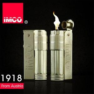 Image 3 - Classica Genuine IMCO Accendino A Benzina Generale Benzina Olio Più Leggero Di Rame Originale Sigaretta Gas Lighter Cigar Fuoco Rame Puro