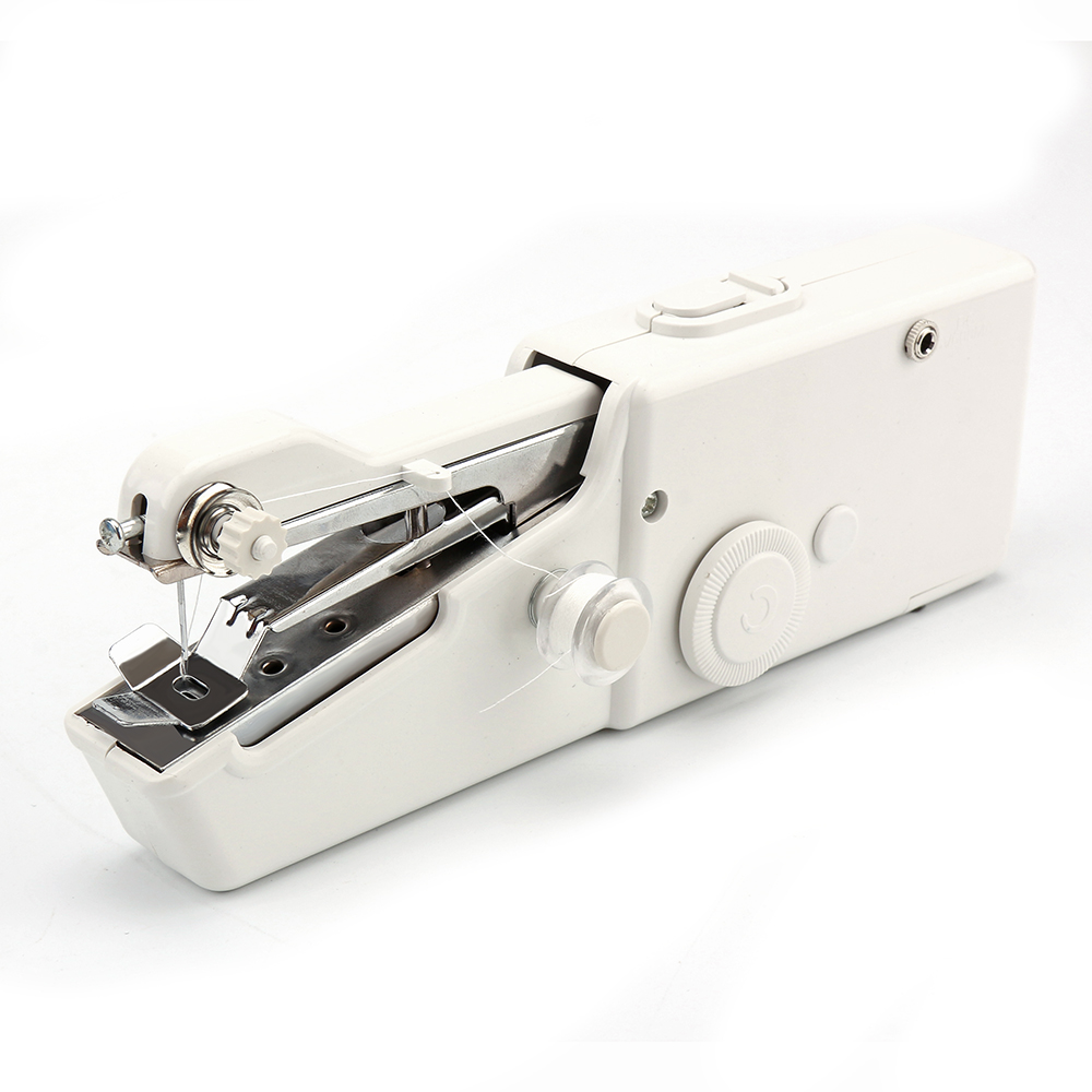 Hand Held Sewing Machine Mini Portable Easy Home Travel Stitch Sew DIY