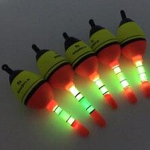 Светящиеся ночью Поплавки 5 шт. 5 г eva плавать + 10 шт. Glow Световой stick Поплавки S Освещение поплавки трубка для Рыбалка