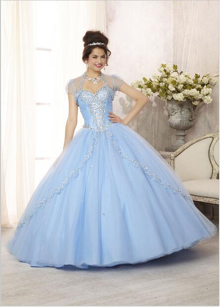 6b39dfa7c Vestidos fiesta fucsia 15 años capas de tul Sweetheart espumoso con cuentas  vestido de fiesta bola cariño vestido de quinceañera L694 en Vestidos de ...