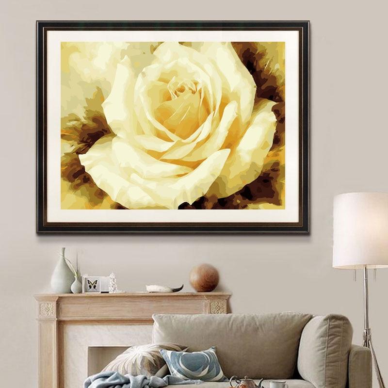 Modern Rose Wall Art Sketch - Art & Wall Decor - hecatalog.info