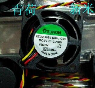 SUNON2.5cm EC0510B2-Q01U-G99 2515 5v 0.2w Cooling fan игра q u b e