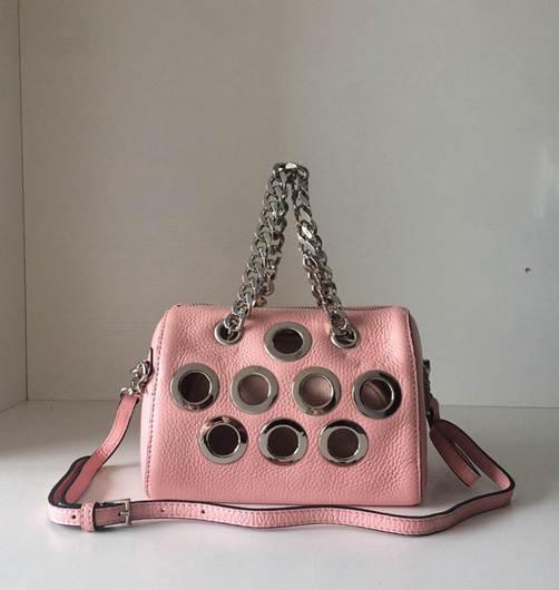 ФОТО genuine leather bag sequins messenger bag small chains flap bag brand shoulder bags handbag women 2017 new black grey pink color