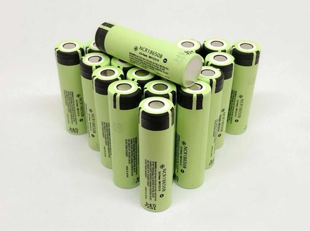 20PCS LOT New Original Panasonic 18650 NCR18650B 3 7V 3400mAh Rechargeable Battery Lithium Batteries For Laptop