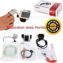 CE CONTEC RS01 montre-Bracelet l'apnée du Sommeil écran mètre, Respiration Sommeil Moniteur, PC logiciel