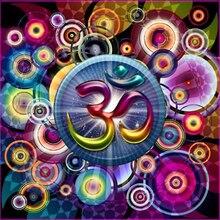 Full Square Dill Diamond Needlework Diy Diamond Painting Kit Cross Stitch Embroidery Universe Meditation Mandala picture HL126