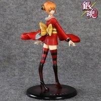 Anime nhật bản 20 cm Bạc Hồn Kagura Hình Con Số Hành Động GEM Kagura umbrella PVC Hành Động Hình Thức Bộ Sưu Tập Mô Hình Đồ Chơi xx060