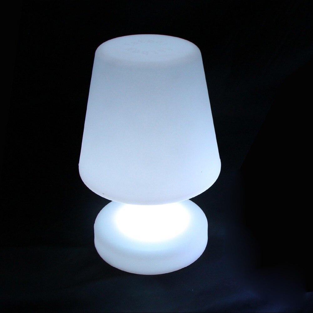 D17 * H25.5cm Portátil luminária lâmpadas de iluminação Li bateria operado luzes De Cabeceira para Decoração de Natal frete grátis 1pc